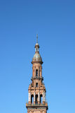 Tower in Plaza Espana, Sevilla Royalty Free Stock Photography