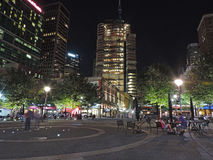 The Tower at PNC Plaza at Night Stock Photography