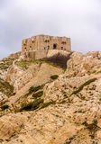 Tower on Pomegues island in Marseille Stock Photography
