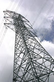 Tower of Power. High voltage power transmission tower Stock Image