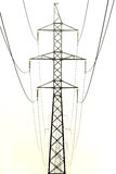 Tower power line. Royalty Free Stock Photography