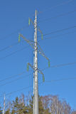 Tower power lines. Stock Photos