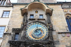 Tower in Prague. Astronomical clock tower in the old town of Prague, Czech Republic Royalty Free Stock Images