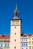 Tower in Prague. Water tower in the Old Town of Prague (Czech: Staromestska vodarenska vez Stock Photography