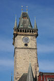 Tower Prague Astronomical Clock, Royalty Free Stock Image