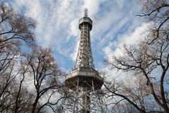 Tower in prague Royalty Free Stock Image