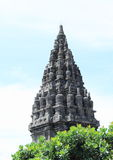 Tower of Prambanan Stock Photography