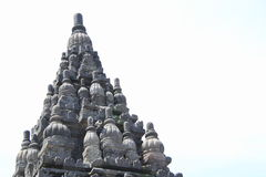 Tower of Prambanan Stock Image