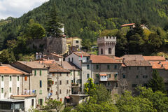 Tower of Premilcuore village Royalty Free Stock Image