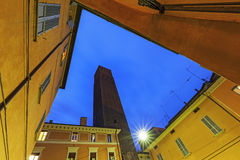 Tower Prendiparte or Coronata in Bologna Stock Images
