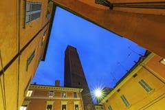 Tower Prendiparte or Coronata in Bologna Stock Images