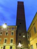 Tower Prendiparte or Coronata in Bologna Royalty Free Stock Photos