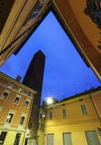 Tower Prendiparte or Coronata in Bologna Royalty Free Stock Photography
