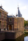 Tower of prime minister. Office of the prime minister of the Netherlands, the so-called tower stock image