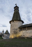 Tower of the Pskov fortress. Royalty Free Stock Image