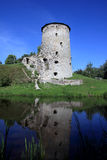 A tower in Pskov, Russia Stock Image