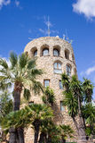 Tower in Puerto Banus Royalty Free Stock Images