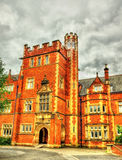 A tower of Queen's University Belfast Royalty Free Stock Photography