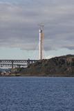 Tower of Queensferry Crossing Stock Image