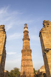 Tower of Qutub Minar Royalty Free Stock Photos