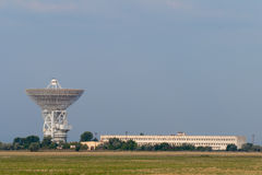 Tower with radar communication system Royalty Free Stock Photography