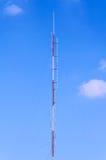 Tower for radio antenna Stock Photos