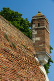 Tower on the ramparts Stock Photo