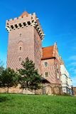 Tower reconstructed royal castle Stock Photo