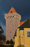 Tower reconstructed royal castle Royalty Free Stock Photo