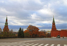 Tower on the Red Square Moscow Russia Stock Photo