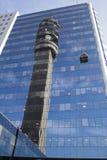 Tower Reflex Santiago de Chile Stock Photos