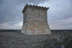 Tower of Regina, Pervolia Larnaca in Cyprus royalty free stock photo