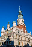 The tower of the Renaissance town hall Royalty Free Stock Photo