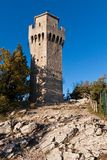 Tower in Republic of San Marino Royalty Free Stock Photos
