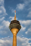 Tower Rheinturm in Dusseldorf Royalty Free Stock Images