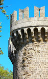 Tower in Rhodes castle Stock Photography