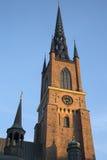 Tower of Riddarholmen Church; Stockholm; Sweden. Europe Royalty Free Stock Image