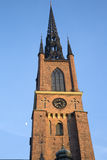 Tower of Riddarholmen Church; Stockholm; Sweden. Europe Royalty Free Stock Photography