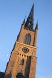 Tower of Riddarholmen Church; Stockholm; Sweden. Europe Royalty Free Stock Photos