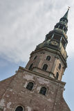Tower of Riga Cathedral Stock Photo
