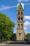 Tower of Rochuskirche, Dusseldorf, Germany Stock Photo
