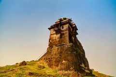 Tower of Rohtas fortress in Punjab Pakistan. Tower of Rohtas fortress in Punjab, Pakistan royalty free stock image