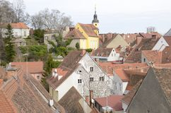 Tower and roofs Royalty Free Stock Photography