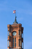 Tower of the Rote Rathaus Royalty Free Stock Photo