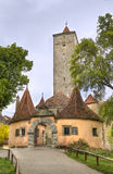 Tower of Rothenburg ob der Tauber, Germany Stock Photos