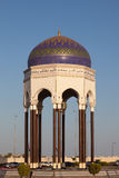 Tower at a roundabout in Muscat, Oman Royalty Free Stock Photo