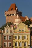 Tower of the Royal Castle. Poznan. Poland royalty free stock photo