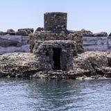 Tower Ruin at Kales Fort in Lerapetra Royalty Free Stock Image
