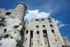 Tower of the ruined castle Royalty Free Stock Photography