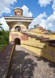 Tower - ruins. Catherine Park. Pushkin (Tsarskoye Selo). Petersburg. Royalty Free Stock Photos